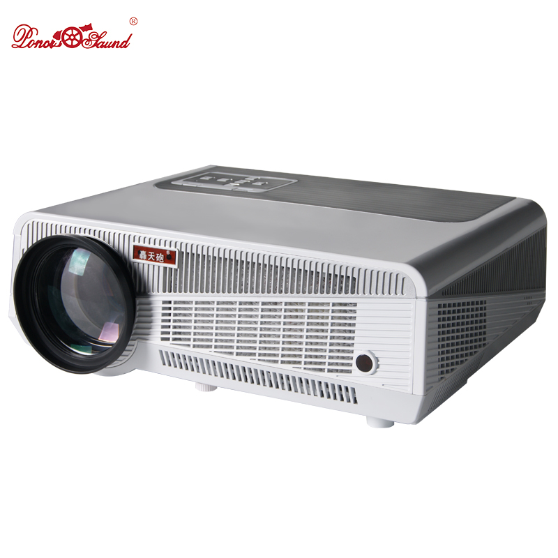 Poner Saund Full Hd New Mini Projector Proyector Led Lcd: Poner Saund Full HD New Android Smart Projector Proyector