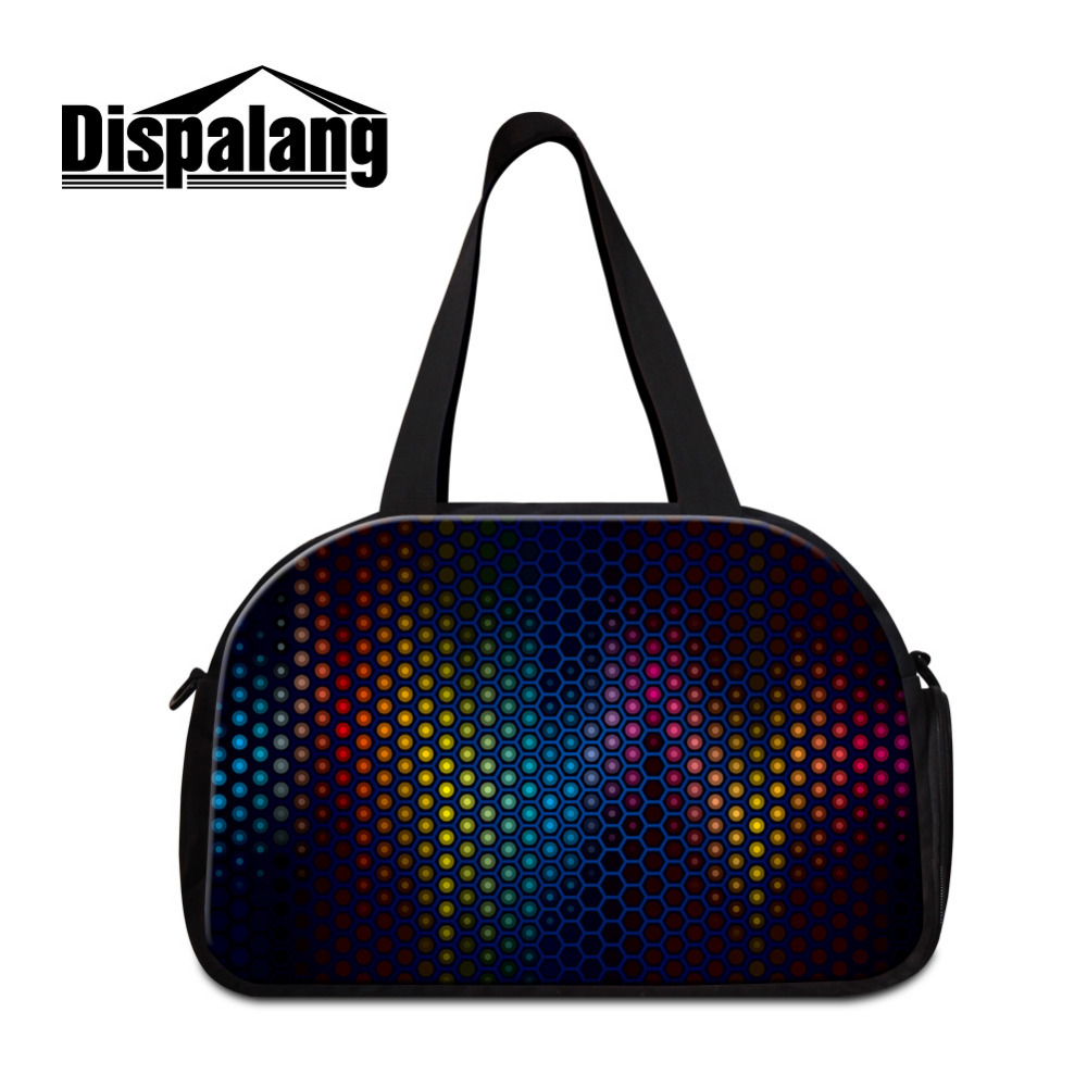 Dispalang Men Travel Bags Light and shadow Men Tote Shoulder Travel Bag Portable Men Handbags Big Weekend Bag Women Duffle Bag
