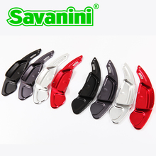 Savaini Brand New 2pcs High Quality Aluminum Steering Wheel Shift Paddle Shifter Extended type For Benz new 2015 C class