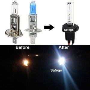 Image 4 - Safego 35W single beam hid xenon bulbs lamps auto car lights h1 h3 h4 h7 H8 H9 h11 9005 9006 HB3 HB4 4300K 6000K 8000K