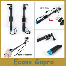 Cheapest prices For GoPro Remote Pole 33-99cm Telescopic Pole Aluminum Handheld Monopod tripod with Cabinet For Accessories GoPro 4/ 3+/Session