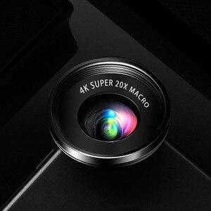 Image 3 - Mini 4K HD Super 20X mikrofon obiektyw szerokokątny do aparatu Smartphone 2019 nowość