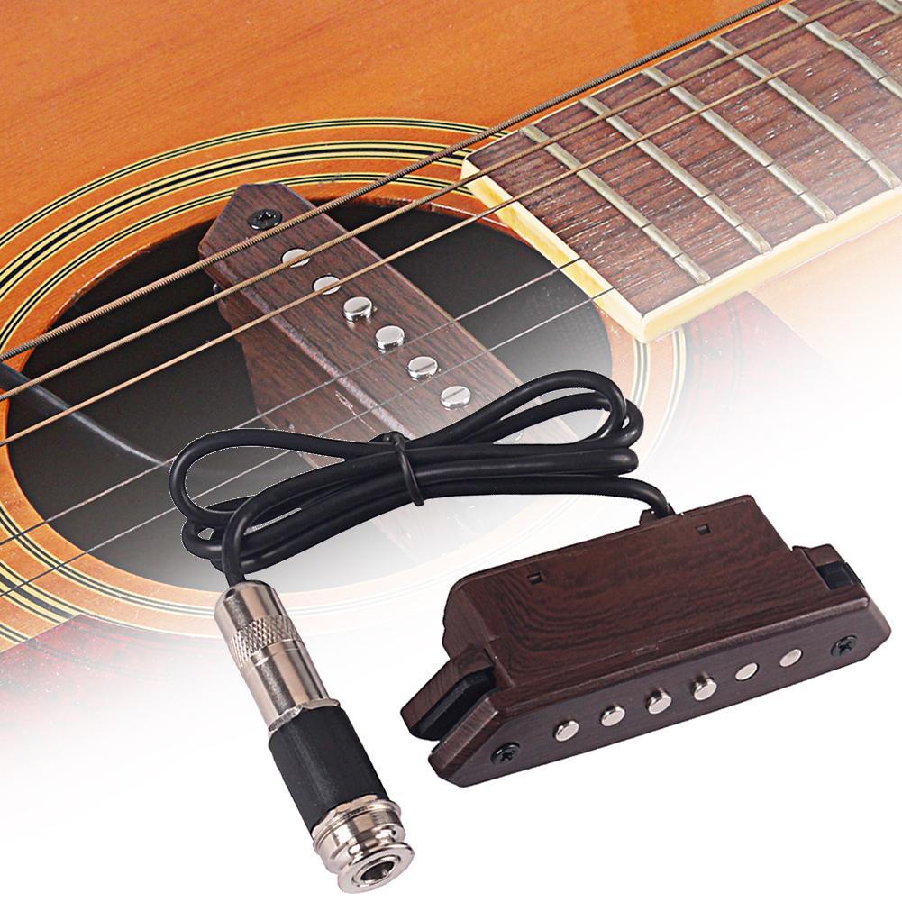 Nouveau trou de son professionnel pick-up guitare Folk acoustique accessoires d'instruments de musique