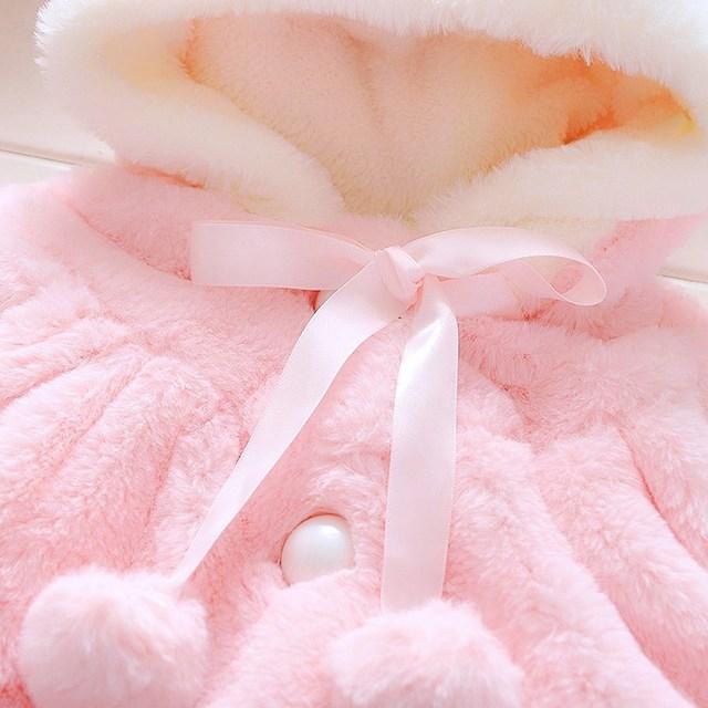 Infant Newborn Baby Girl Coat  5