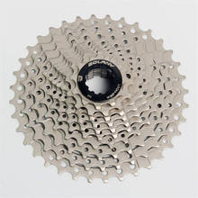 BOLANY Bike Bicycle Freewheel 10 Speed 11-36T MTB Mountain Road Steel Casette Flywheel Wide Tooth Ratio