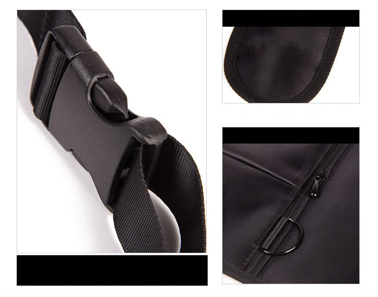 Tactical Invisible armpit bag agents tactical backpack anti-theft hidden personal wallet black molle pouch left right available (18)