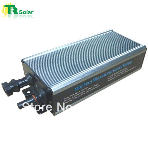 230W Waterproof Grid Tie Solar Wide Voltage Micro-Inverter Matched with 36-48V Solar Panel for Outdoor Using,three-year warranty