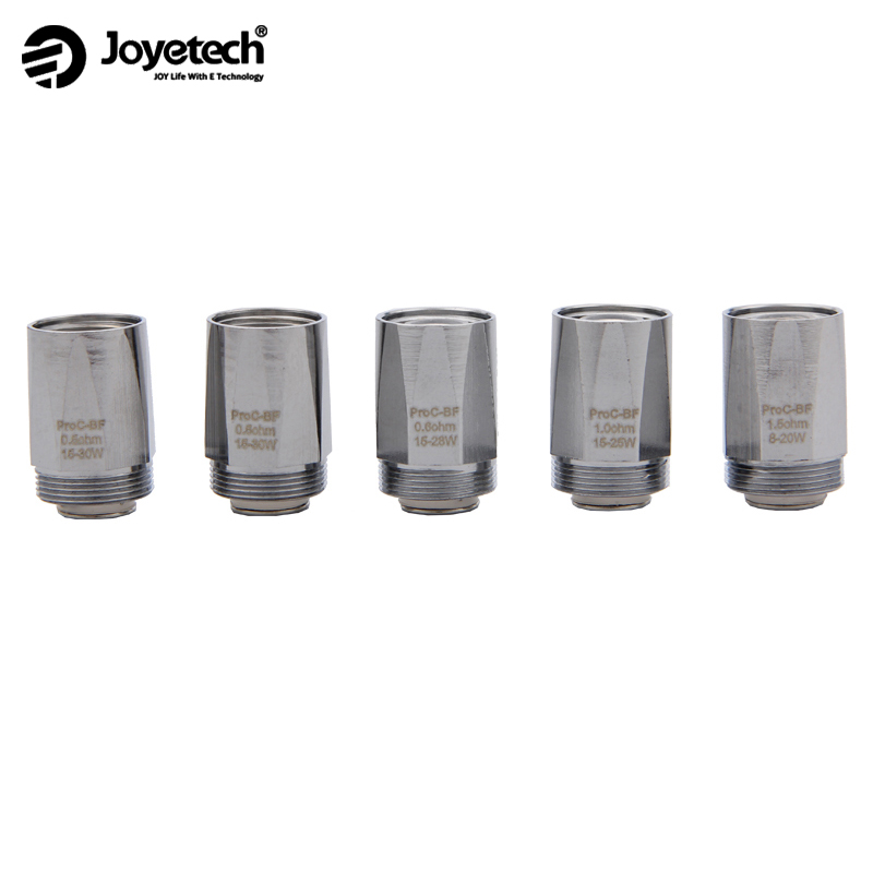 5PCS Joyetech ProC-BF Series Heads Pro BF Coil for 3.5ml Cubis 2 Atomizer Cubox CUBIS / CUBIS Pro / eGo AIO Vape image