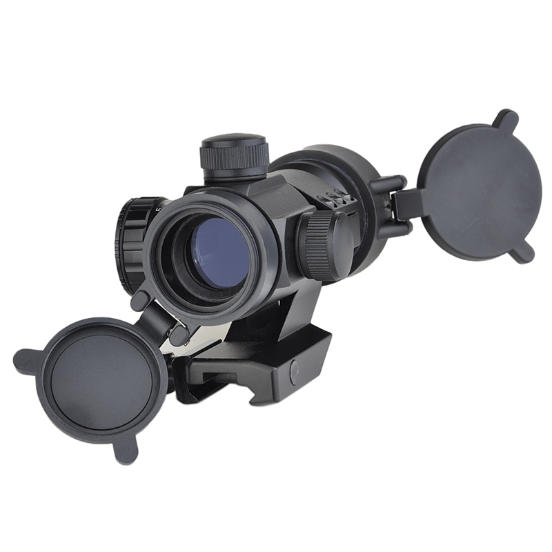 SEIGNEER Tactics  Airsoft Rifle Scope M3 Red/Green Dot With Cantileve Mount For 20mm Picatinny Rail AO3011