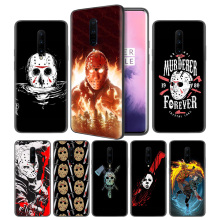 Jason Voorhees Soft Black Silicone Case Cover for OnePlus 6 6T 7 Pro 5G Ultra-thin TPU Phone Back Protective