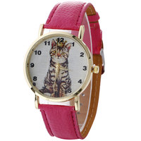 A cat with a crown Hand catenary bracelet watch women montre femme zegarek damski ladies watch relojes para mujer bayan