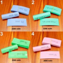 100pcs/lot Lithium Battery Package Skin 18650 Special Pvc Plastic Heat Shrink Tubing Insulation Tubular Film