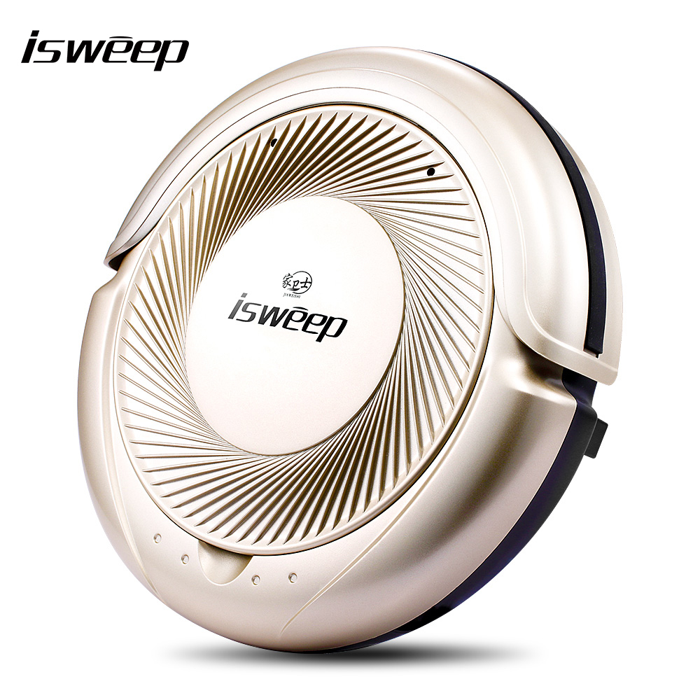 JIAWEISHI Intelligent Robot Vacuum Cleaner Household Dry and Wet Mop Suction Sweep Machine for Pet hair, Anti Collision