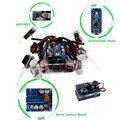 SunFounder Inteligente BRICOLAJE Kit para Arduino Robot Cuadrúpedo Robot Araña de Arrastre Electrónico Con Tablero Nano