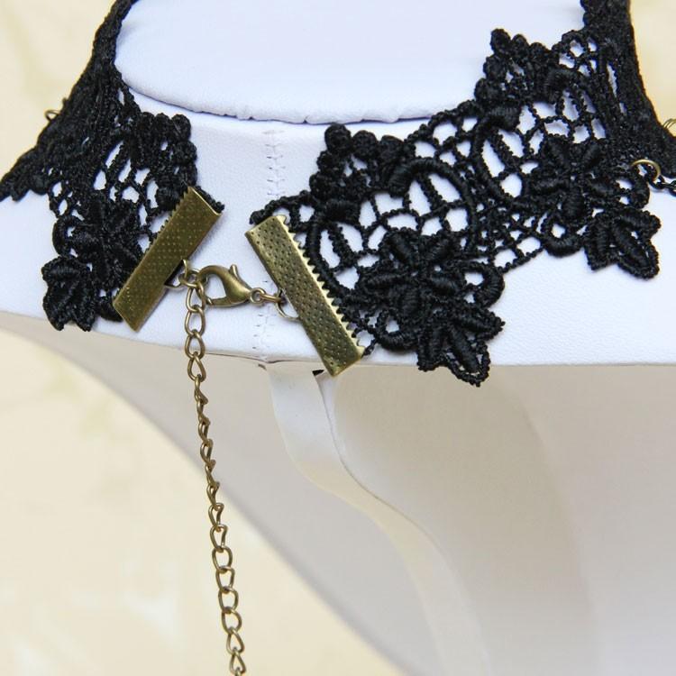 HTB1gMX6HVXXXXXbXVXXq6xXFXXXK Vintage Gothic Tiered Chain Choker Jewelry With Crystal Pendant