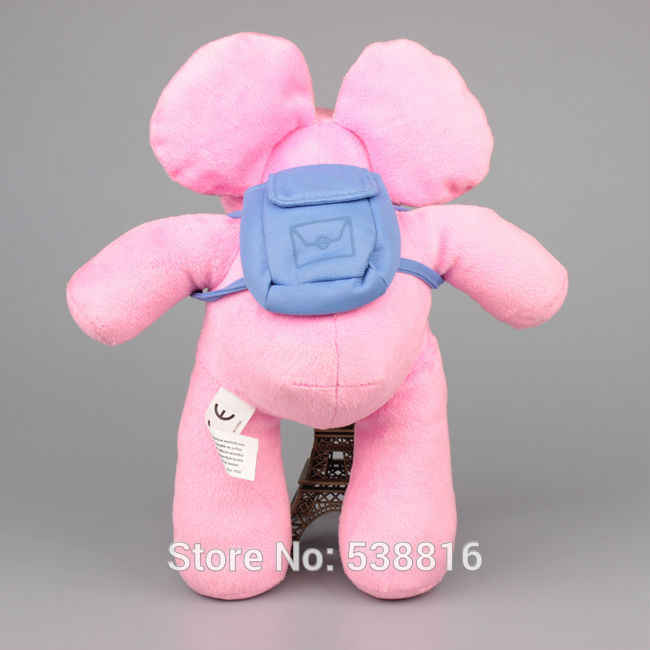 30 CM Pocoyo ELLY Elefante Bichos de pelúcia Macia Boneca de Brinquedo de Pelúcia