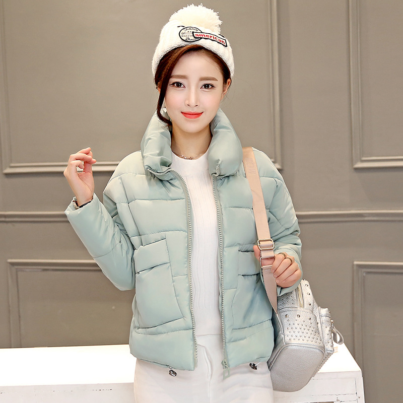 Womens Winter Jackets And Coats 2016 Real Down Solid No Zipper Full Winter New Sleeved Jacket