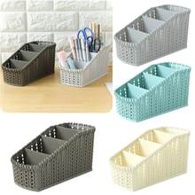 New 1PC Office Plastic storage box organizer Desktop Finishing Box Cosmetics Debris Case drop shipping 7.6 2019(China)