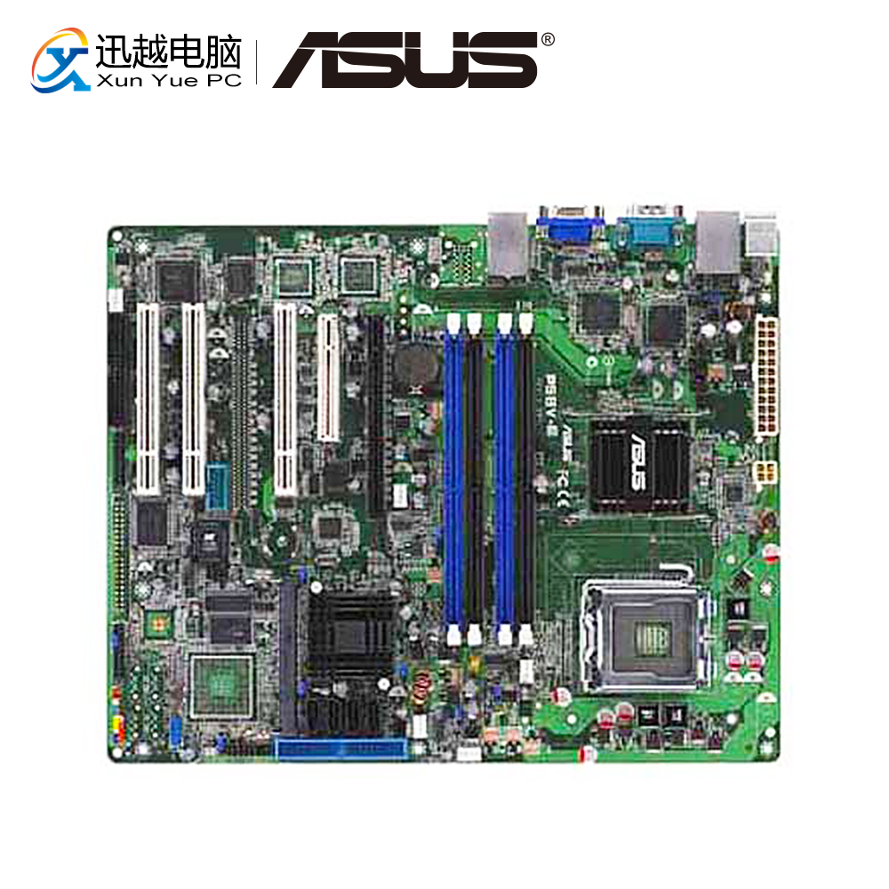 Asus P5BV-E Desktop Motherboard 3200 Socket 775 DDR2 8G SATA2 USB2.0 ATX