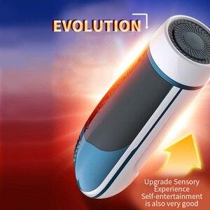 Image 2 - Leten Automatic Rotation and Telescopic Male Masturbator Intelligent Voice Interaction Sex Machine Adult Sex Toys for Men