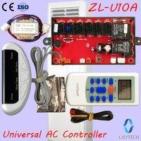 ZL U10A, Universal A/C control system, Universal AC controller, Universal ac control PCB, Remote and Board, Lilytech