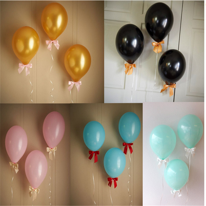 High-quality 50pcs/lots 12 inch Round latex balloons ,birthday&wedding  party Gold balloon ,Pearlized color