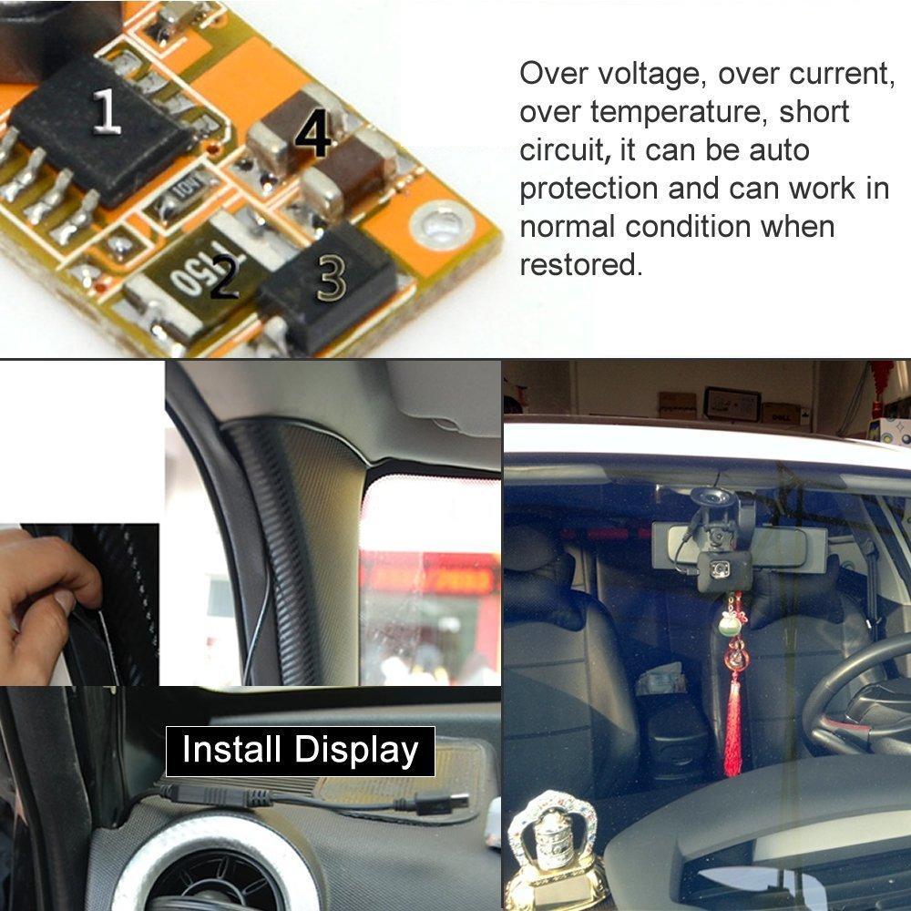 Car Auto Mini Usb Charger In Power Supply For Dashcam Dvr Gps E 5vpowersupplywithovervoltageprotectionjpg Dog Cell Phone Hard Wired Tablet 12v 24v To 5v Truck Cables