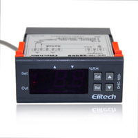 Elitech All Purpose Air Humidity Control Controller With Sensor 110V Gray Dhc 100