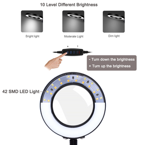 Image 3 - NEWACALOX 세 번째 손 납땜 홀더 USB 3X 조명 돋보기 용접 수리 손 도구 돋보기 납땜 역