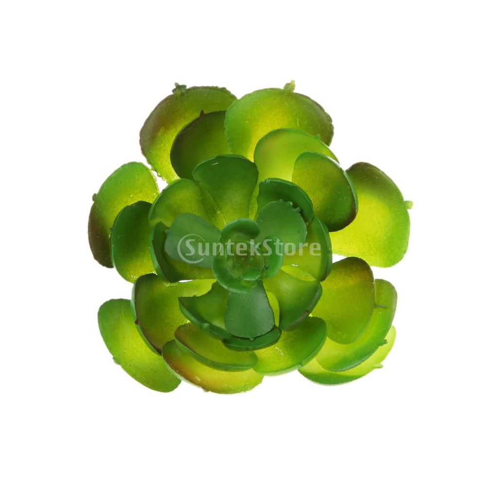 Green lotus flower promotion shop for promotional green lotus artificial succulent real touch gem lotus flower foliage decor pink green dhlflorist Gallery