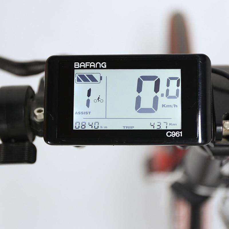 E bike Bafang LCD C961 Display Computer Ebike Conversion Kits For 24V 36V 48V 250W 350W