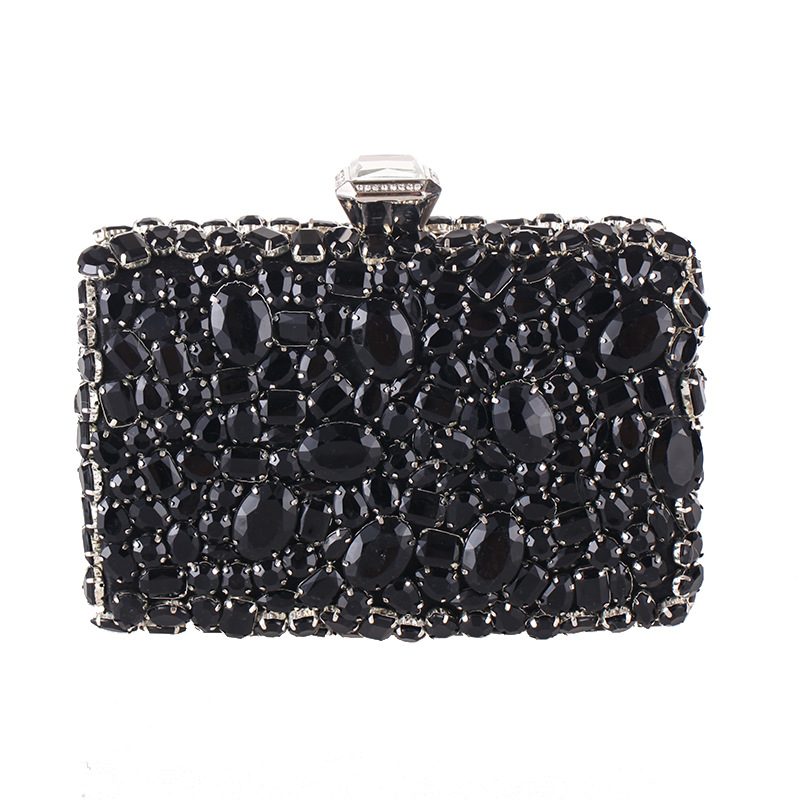 Luxurious Women Clutch Bags Female Diamonds Chain Shoulder Women's Evening Bag Lady Dress Wedding Dinner Party Handbags Gift Bag female banquet clutch ladies shoulder messenger bags chain women wedding party dinner bags lady diamond clutch bag bolsa gold