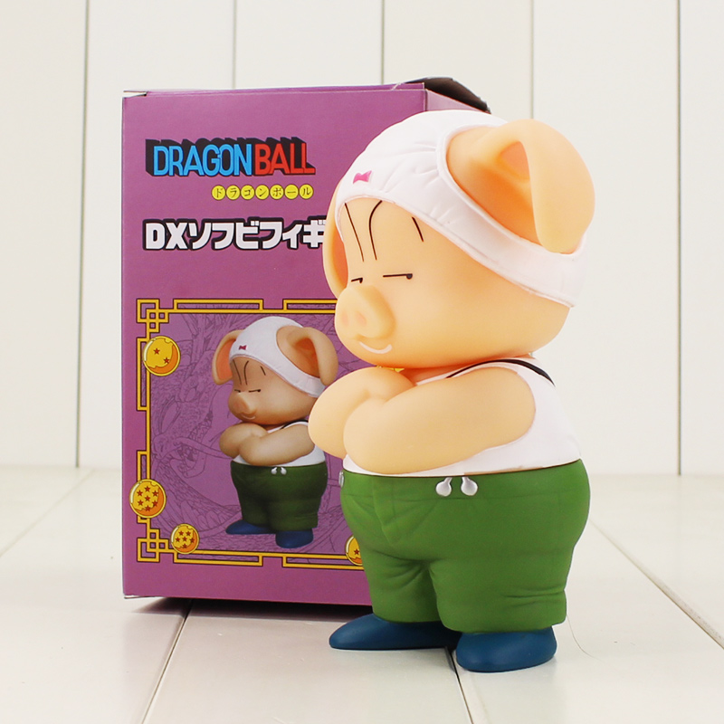 16cm Dragon Ball Z Oolong Pig figure model toy Hot Anime Dragon Ball kawaii Pig PVC Figure Model Toy for children gift new arrival 16cm anime dragon ball z shfiguarts vegeta pvc action figure toy with box kids model toys juguetes hot freeshipping