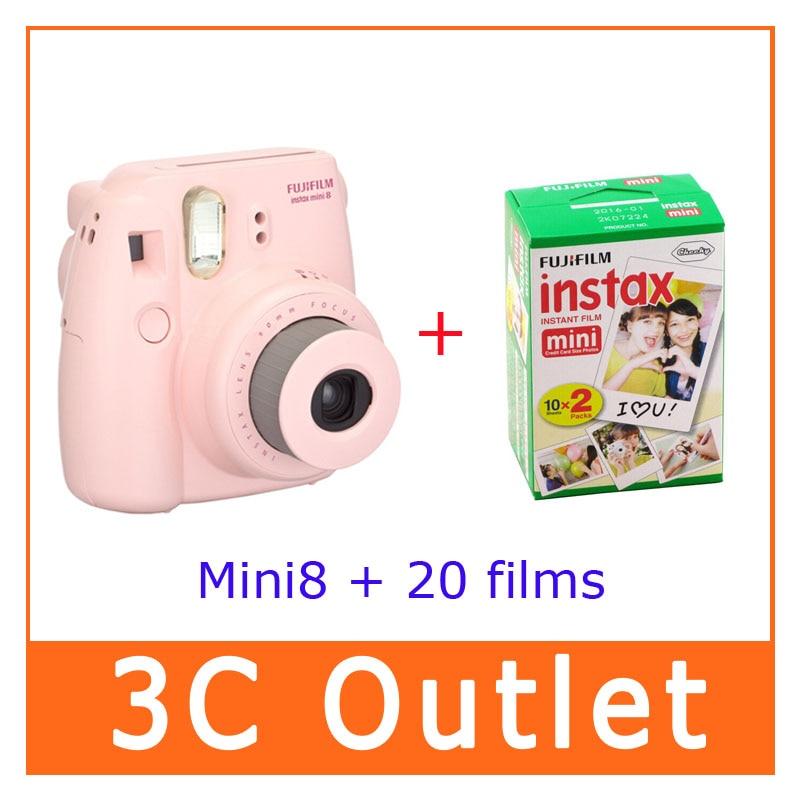 Original Fujifilm Instax Mini 8 Camera , Fuji 3 Inch Instax Camera In Film Camera fujifilm instax mini 8 yellow