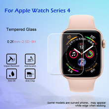 HD Tempered Glass LCD Screen Protector Film For Apple Watch Series 4 40mm wearable devices smartwatch relogio inteligente 3