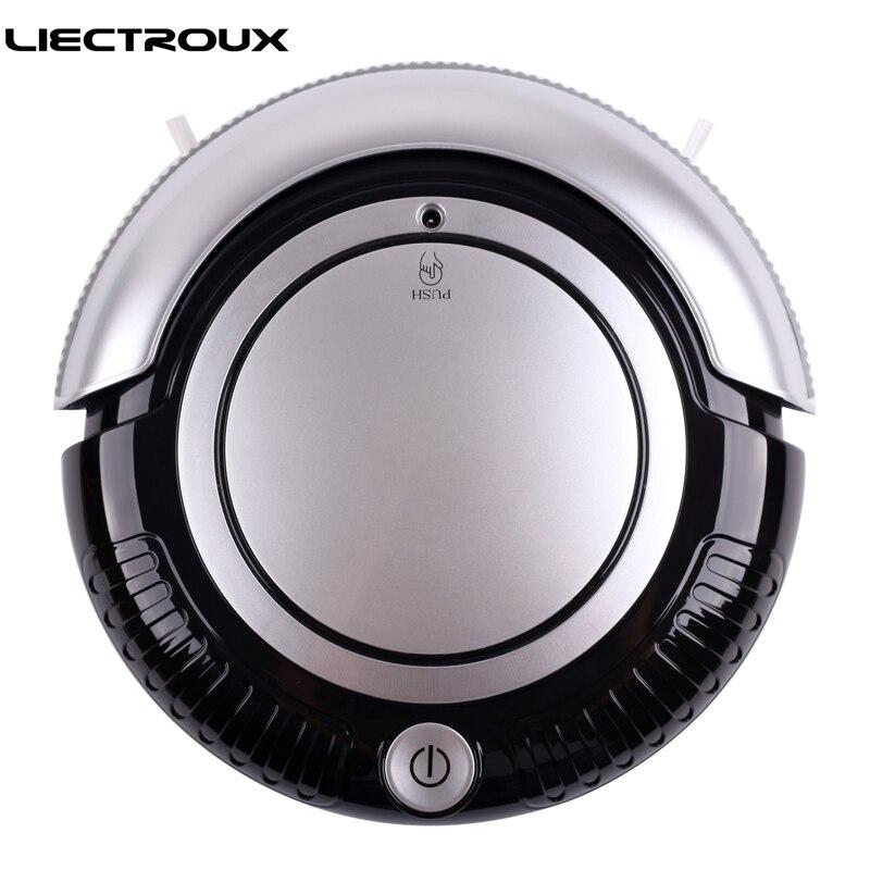 LIECTROUX K6L 3 In 1 Multifunctional Robot Vacuum Cleaner Vacuum Sweep Mop 2 Side Brushes Flashing