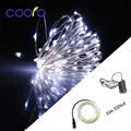 10M 100LEDs Copper wire LED string + DC12V 1A Power adapter  For Christmas light, Party,Wedding decoration,Free shipping