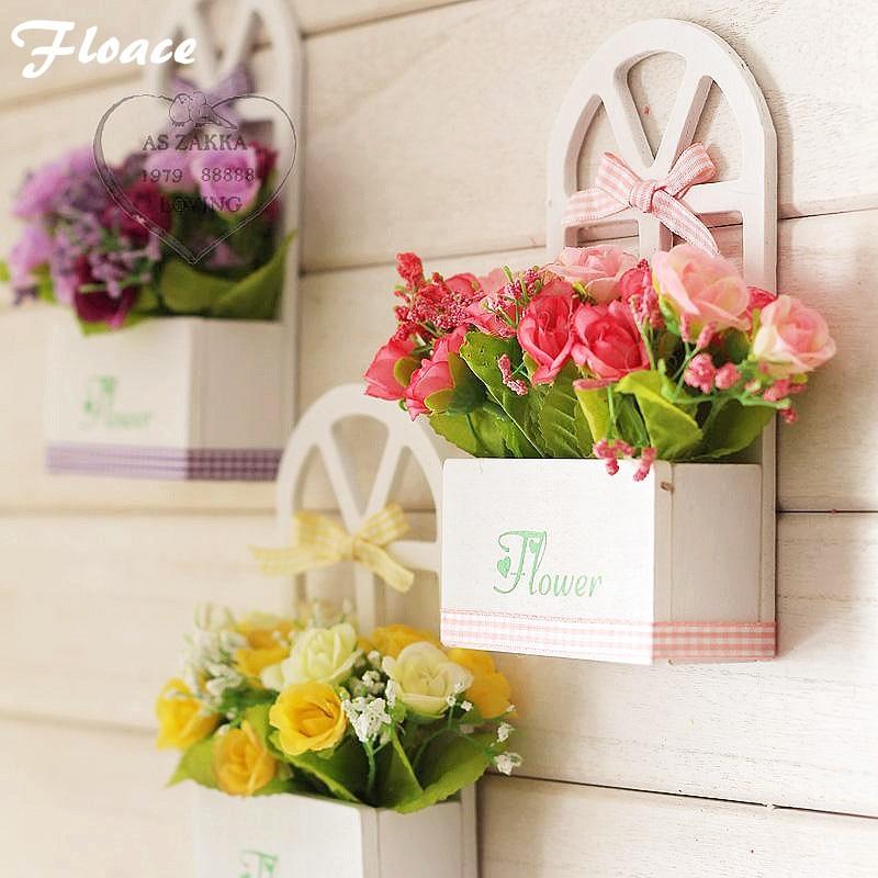 Floace 비품 장식 꽃 시리즈 여러 가지 빛깔의 미니 장미 꽃 창 인공 꽃 세트