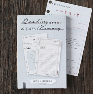 P197- Writing Memory Paper Postcard(1pack=30pieces)