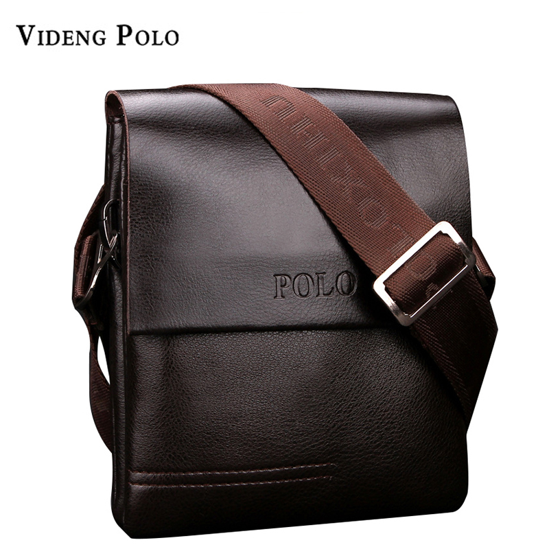 все цены на  2017 New High Quality PU Leather Mens Messenger Bags Famous Brand Casual Business Man Bag Men Shoulder Bag Crossbody Bag bao bao  онлайн