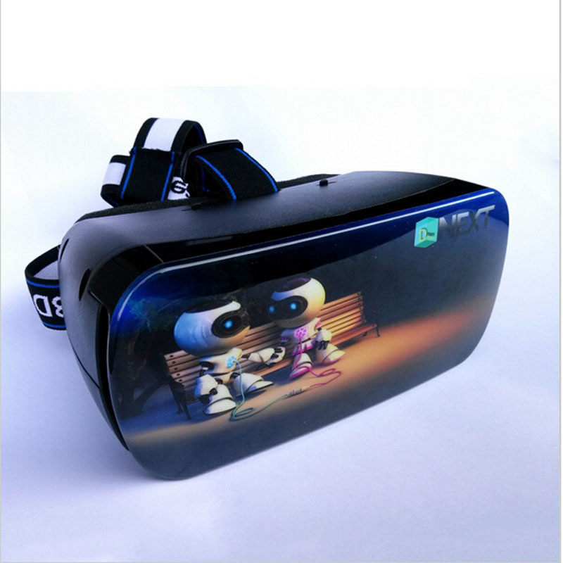 2016 New Mobile Movie Theater Glasses Cinema Virtual Reality Glasses 3D Video Glasses Games font b
