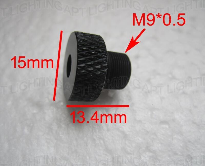 NEW Adjustable  Focusing Lens Three Layer Coated Glass M9*0.5 For 405nm 445nm 450nm 1w 2w 2.5w 3w 5.5w Laser Diode Module