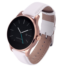 Toobur smart watch ips runden bildschirm unterstützung pulsmesser bluetooth smartwatch