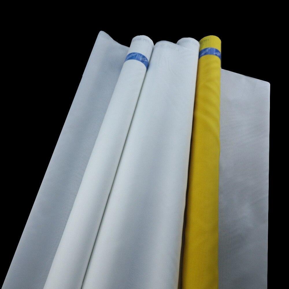 255 maille/100 T jaune 127 cm 30 mètres 100 T Polyester sérigraphie maille-in Écrans pour porte et fenêtre from Bricolage    1