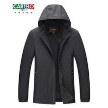 CARTELO Male Casual Business Fleece Thick Hoodie Slim Jacket Autumn Winter Men Brand Fashion Windproof Windbreak