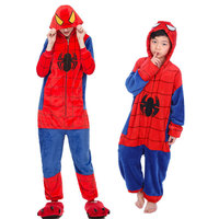 Зимняя одежда для мальчиков и девочек; Фланелевая пижама с единорогом для детей; Onesie; пижамы с аниме; вечерние костюмы; пижамы для мальчиков; ...