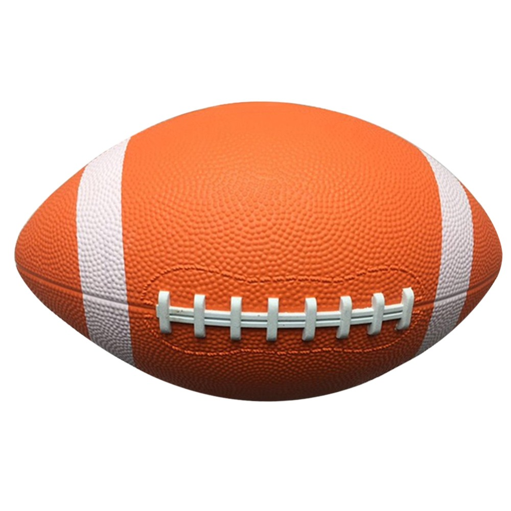 Energetic 1pc Rubber/leather No. 9 Rugby Ball American Football Training Ball Sport Match Sport Standard Rugby For Kids Men Wo0men High Quality Materials