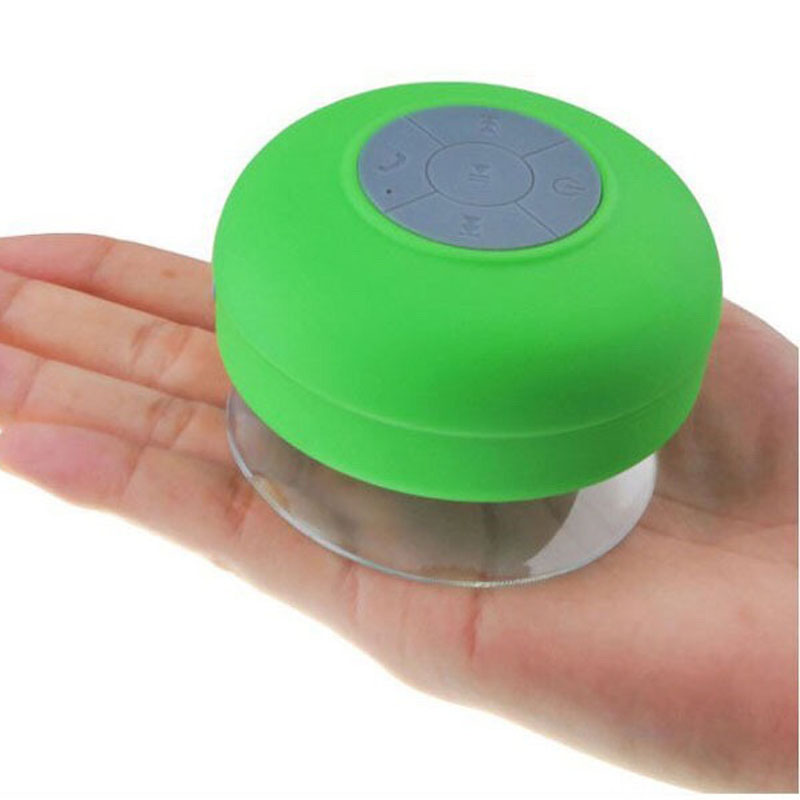 New Mini Waterproof Bathroom Bluetooth Speaker Handfree For IPhone IPad  Samsung Smart Phone Free Shipping