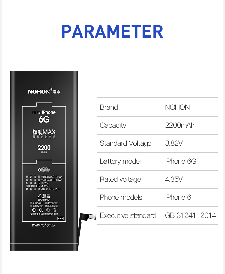 Battery For iPhone 6 (14)