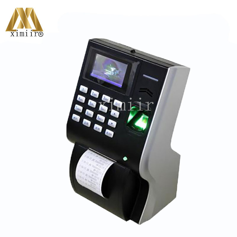 LP400 Fingerprint Time Attendance With Thermal Printer TCP/IP USB Biometric Time Attendance Time Clock For Office Factory k14 zk biometric fingerprint time attendance system with tcp ip rfid card fingerprint time recorder time clock free shipping